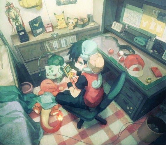 Anime Fan Bedroom Bedroom Ideas With Chandeliers Sheer White Bedroom Curtains Versace Bedroom Sets: Pokemon